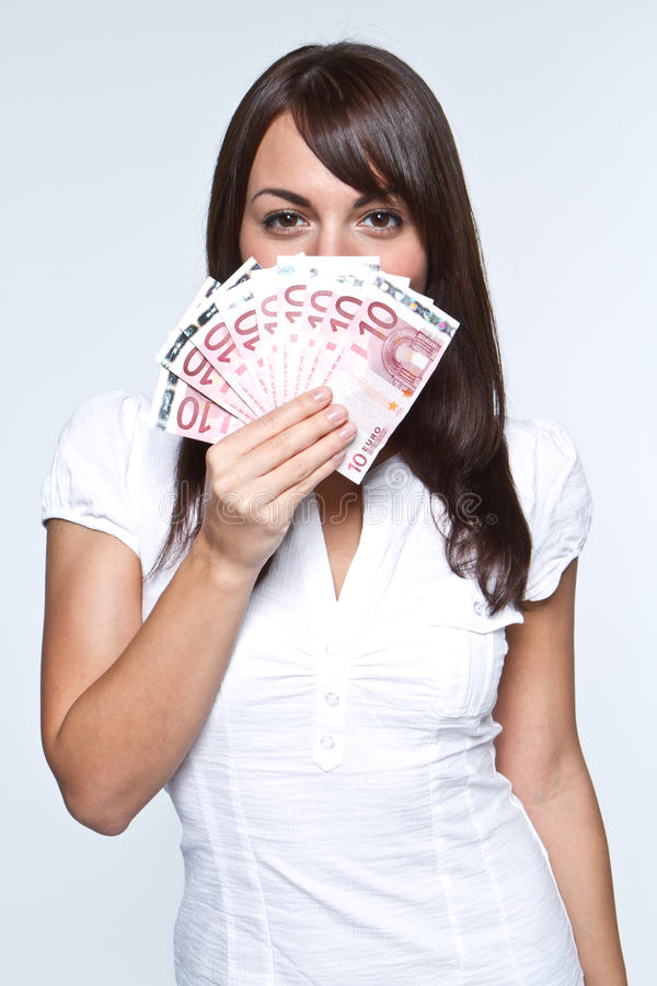 Download Money in hand stock photo. Image of beautiful, expression - 17124842