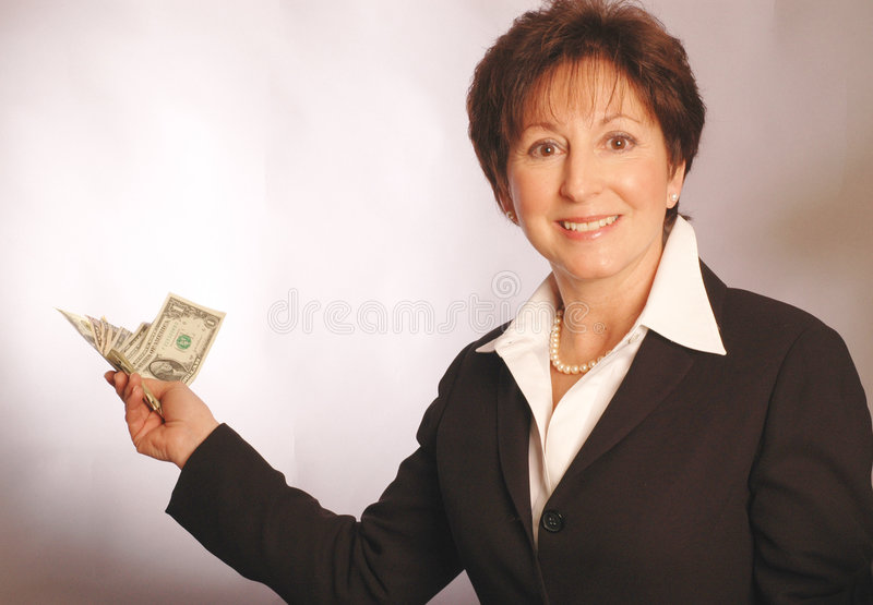 Money in hand 2142. Money in hand model released 2142 royalty free stock photo