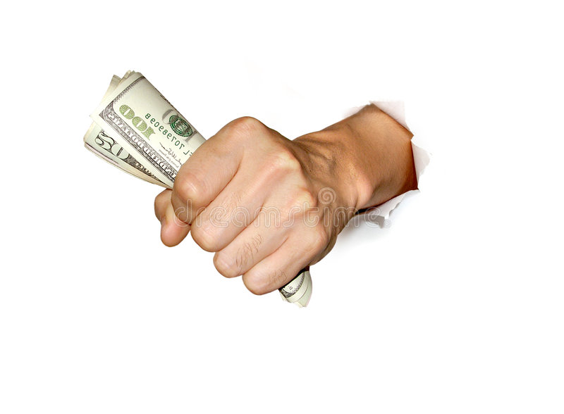 Download Money In Hand Royalty Free Stock Images - Image: 8248519