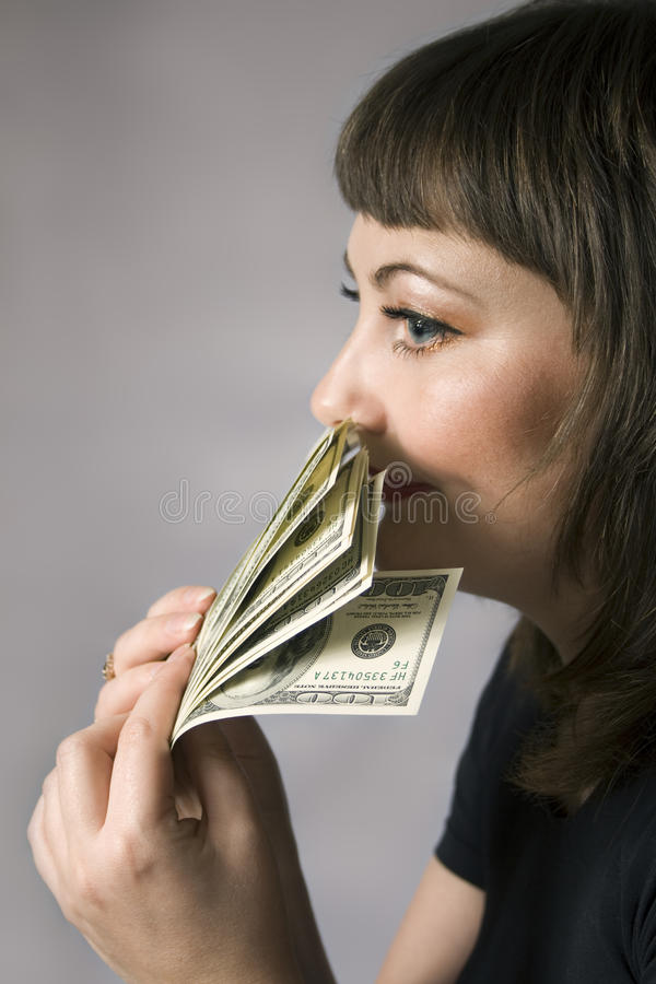 Free Money Has No Smell! Royalty Free Stock Photos - 9824978