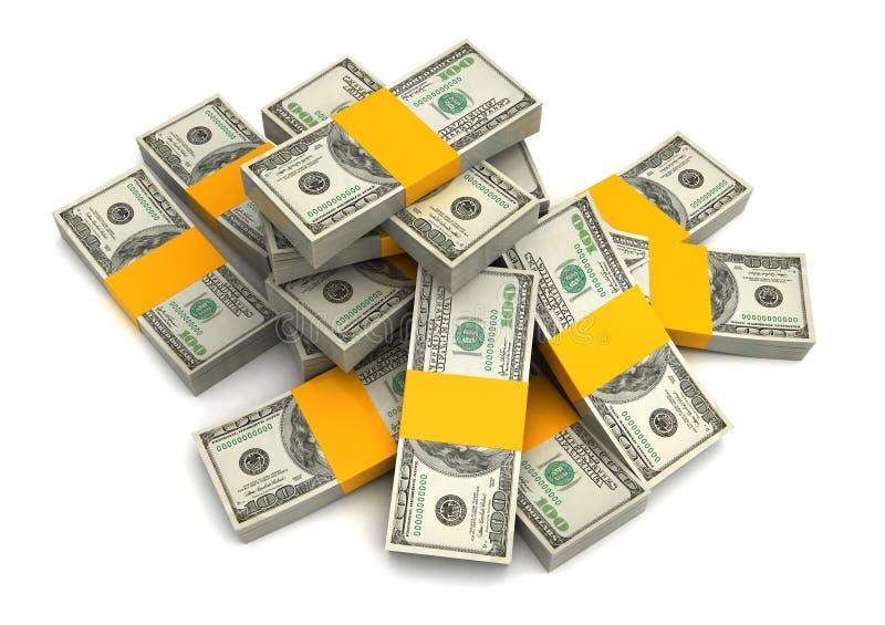 Download Money heap stock illustration. Image of bank, money, number - 23682164