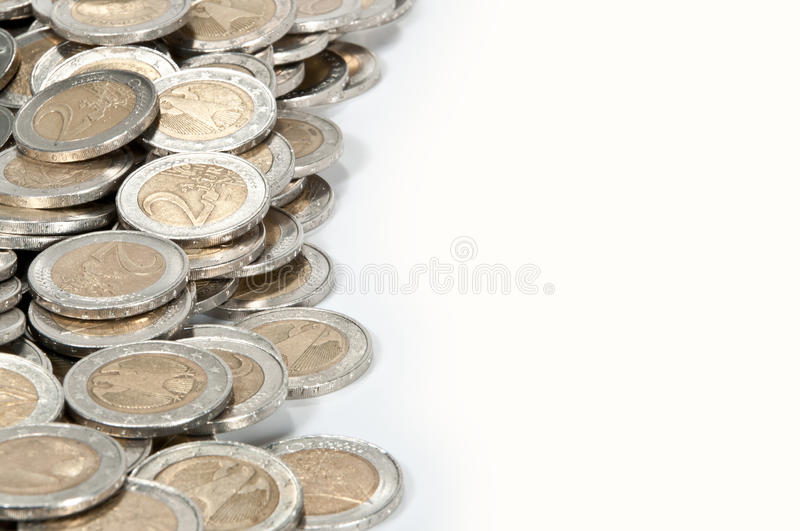 Money Heap (close-up Picture) Stock Images