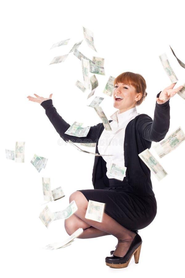 Download Money from heaven stock image. Image of money, flow, cash - 14203235