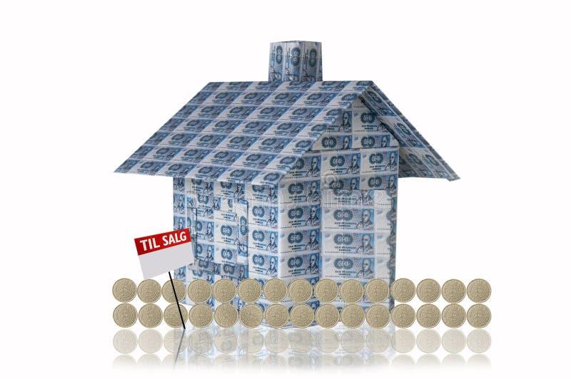 Download Money house stock illustration. Illustration of danish - 11852565
