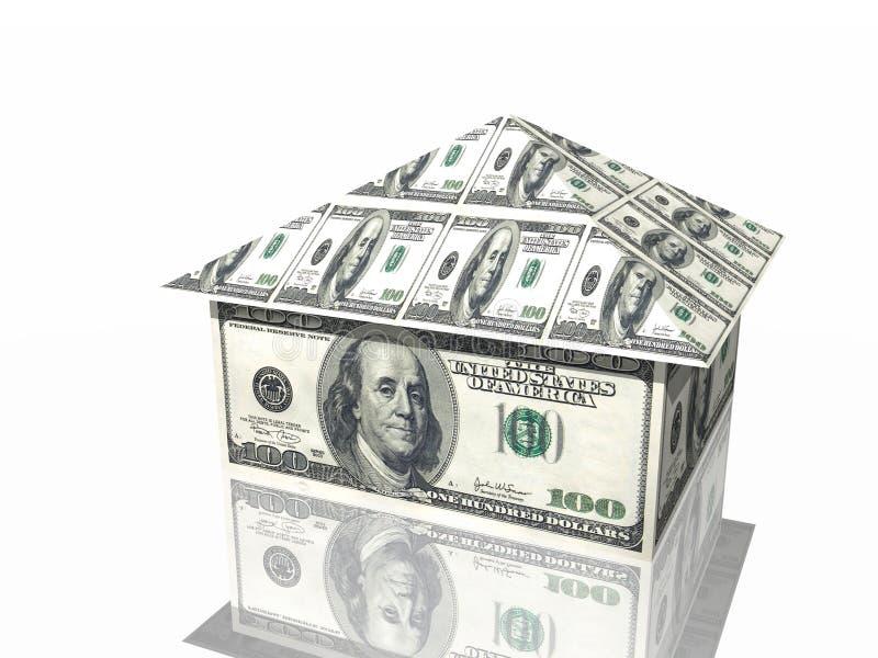 Money house stock illustration