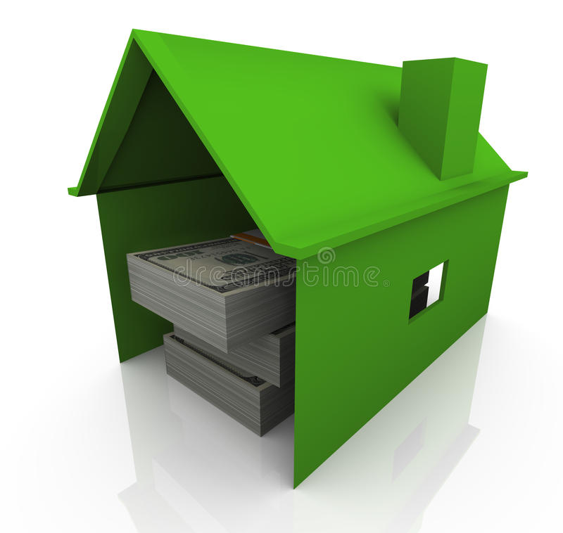 Download Money In The House Royalty Free Stock Images - Image: 21417039