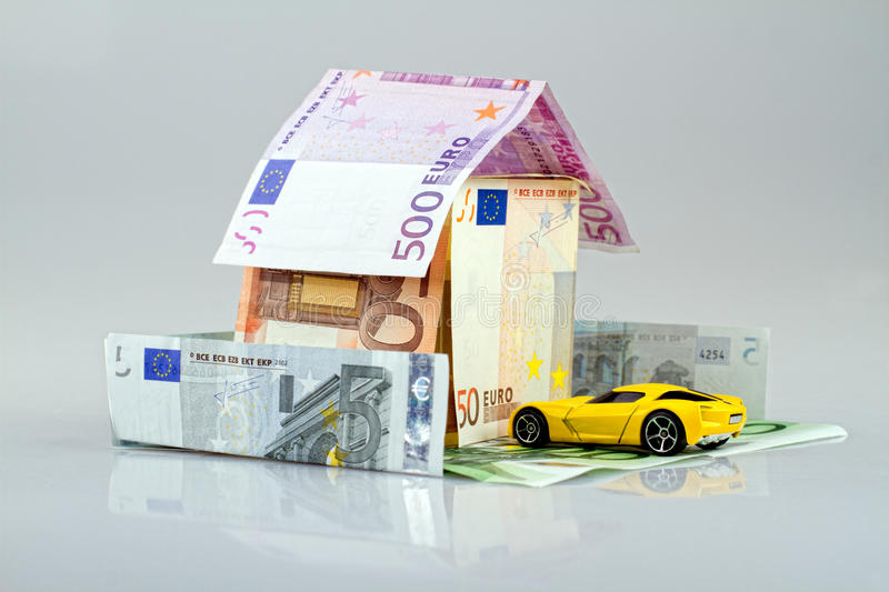 Download Money house stock photo. Image of five, banking, future - 26084150
