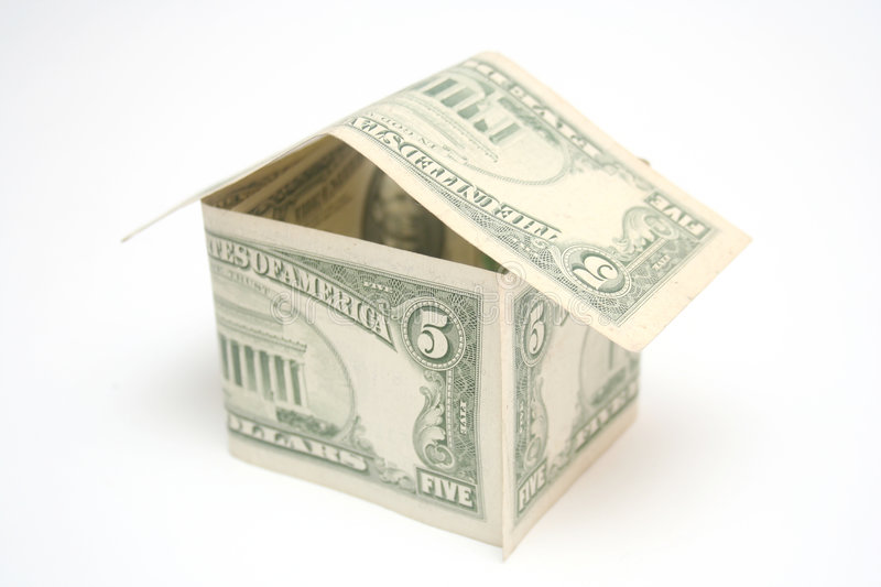 Download Money House Stock Photography - Image: 4152212