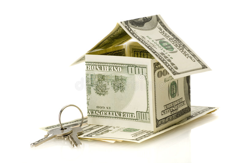 Download Money house stock image. Image of home, mortgage, foundation - 8963755
