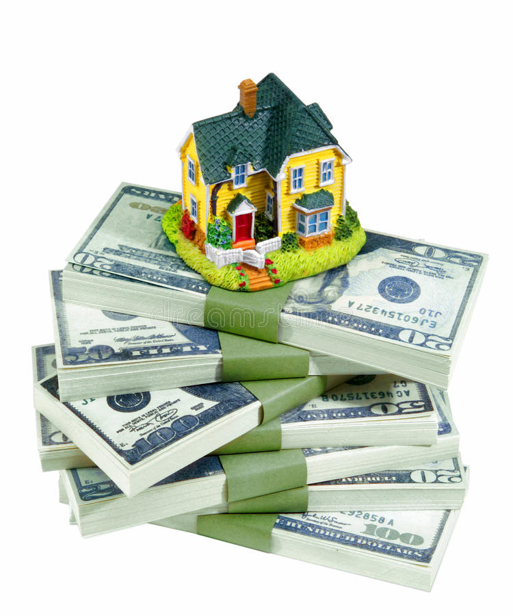 MONEY FINANCIAL PLANNING WEALTH MANAGEMENT RETIREMENT FUND. Financial Planning and Wealth Management, Saving for Home-House Fund. Estate Planning royalty free stock image