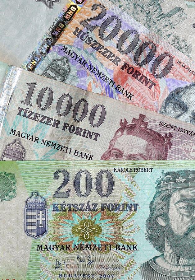 Money - Hungarian Forint stock photos