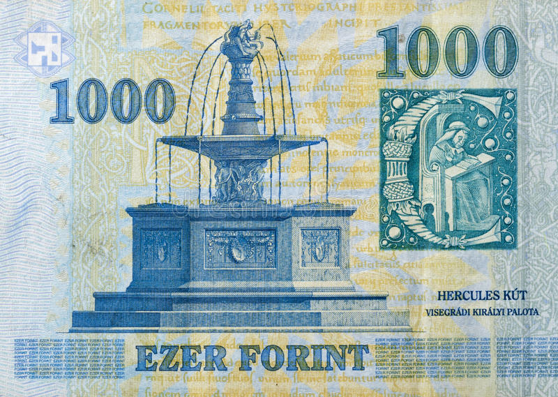 money-hungary-forint-hercules-fountain-c