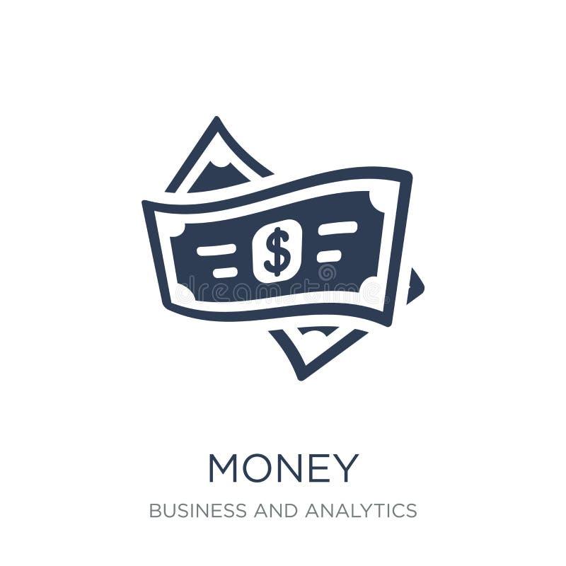 Money icon. Trendy flat vector Money icon on white background fr vector illustration