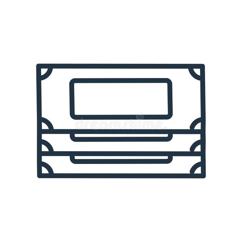 Money icon vector isolated on white background, Money sign stock illustration