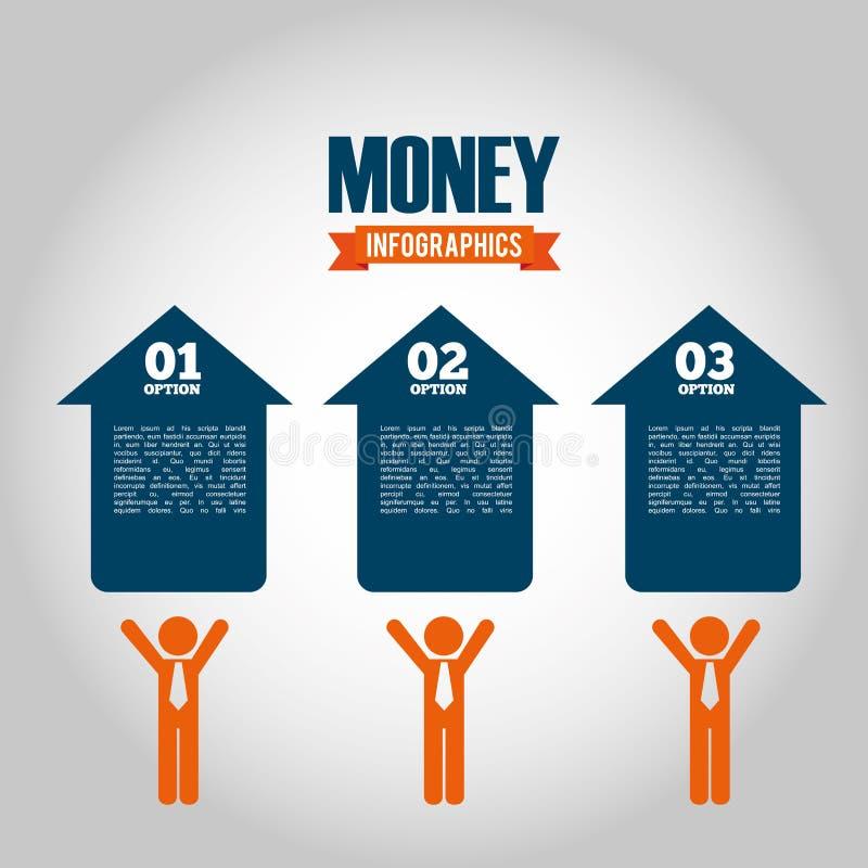 Money Infographic Stock Vector. Illustration Of Auto