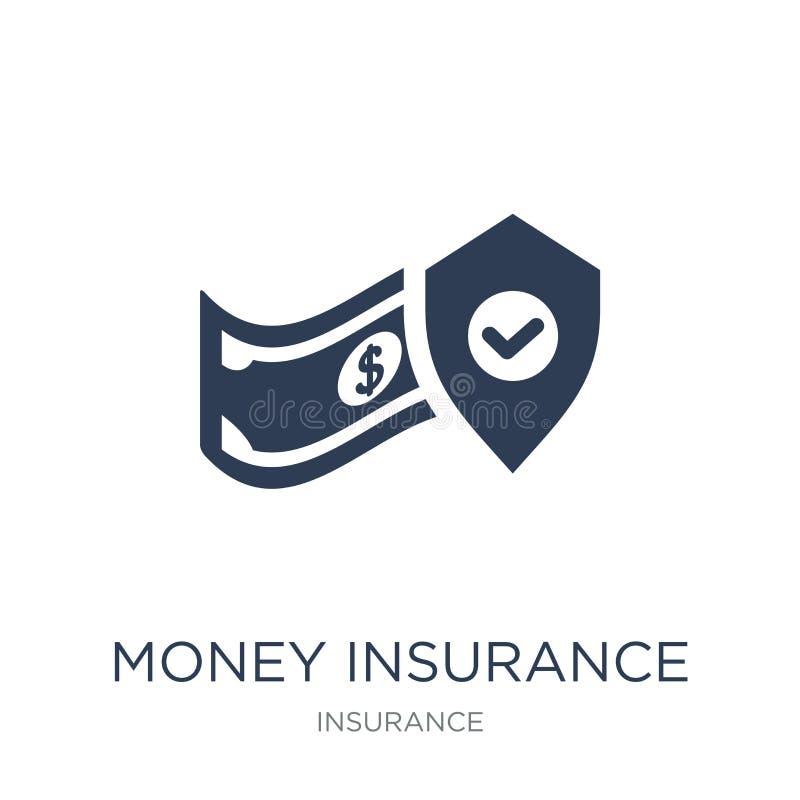 money insurance icon. Trendy flat vector money insurance icon on royalty free illustration