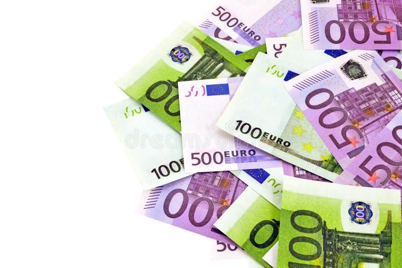 Money isolation stock image