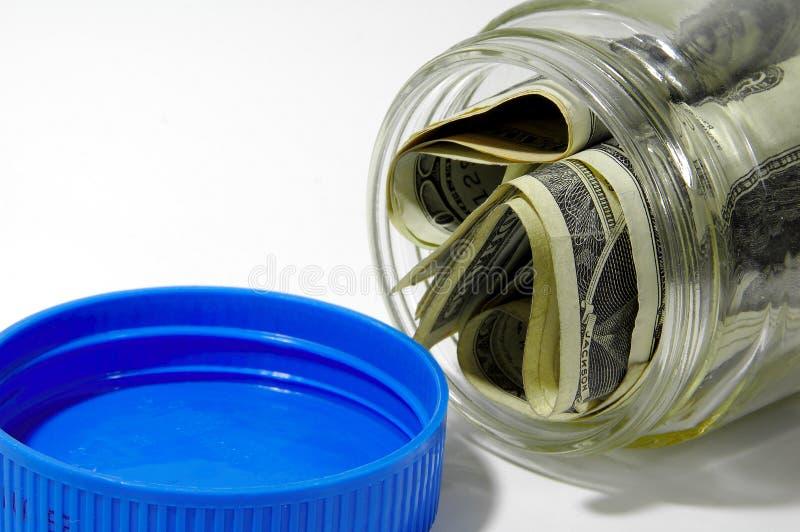 Money Jar stock photo