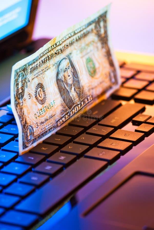 Download Money on keyboard stock illustration. Image of keyboard - 21713405