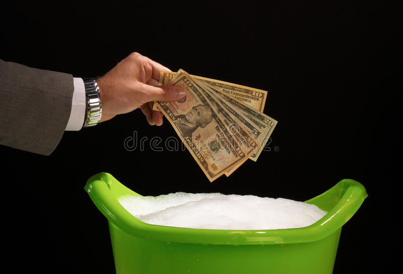Download Money laundering stock image. Image of laundering, artificial - 16171395