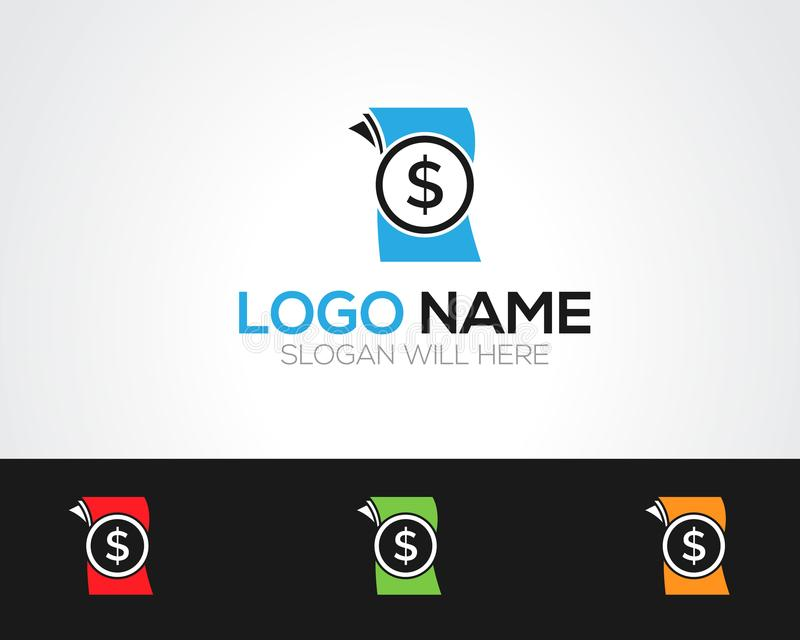 Money Logo Template online store vectors illustration. This is very easy to use. U ca Use as your won simply royalty free illustration