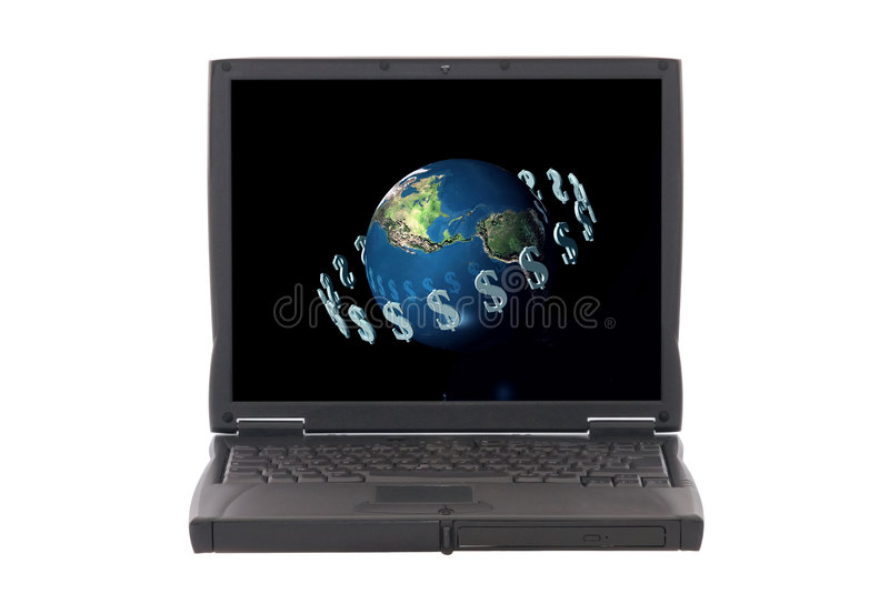Download Money Makes The World Go Around, Internet Banking Stock Image - Image of earth, design: 1875315