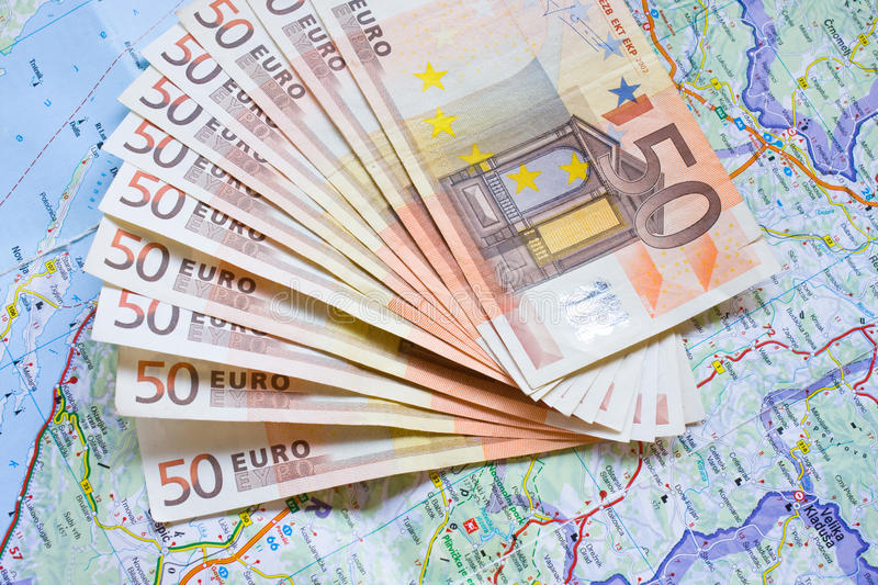 Download Money and map stock photo. Image of market, luck, money - 33087054