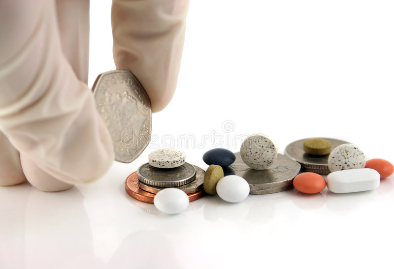 Download Money or medicine ?? stock image. Image of medicine, accounting - 1582657