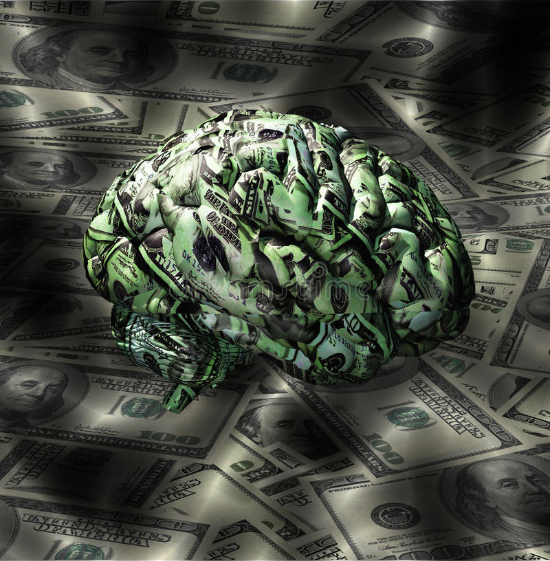 Money Mind stock illustration