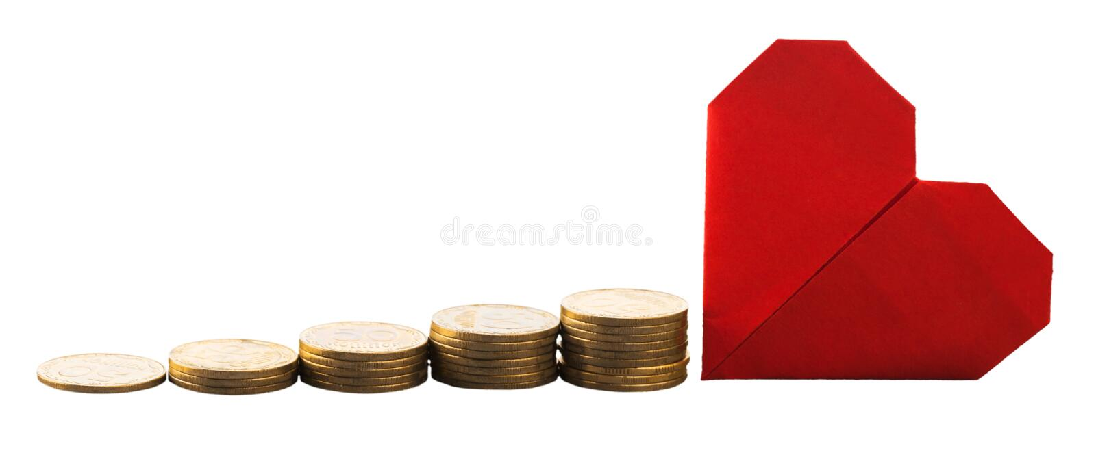 Money. Save growth tax value increase retirement stock image