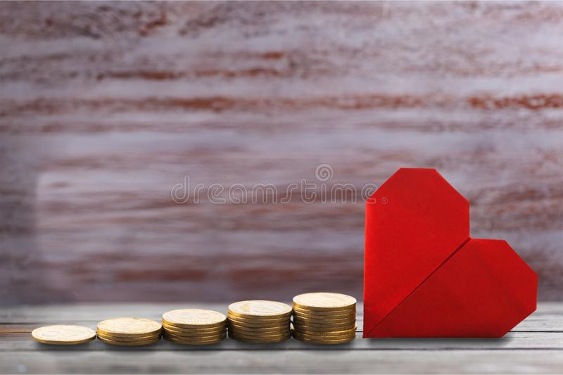 Money. Save tax growth investment value retirement royalty free stock images