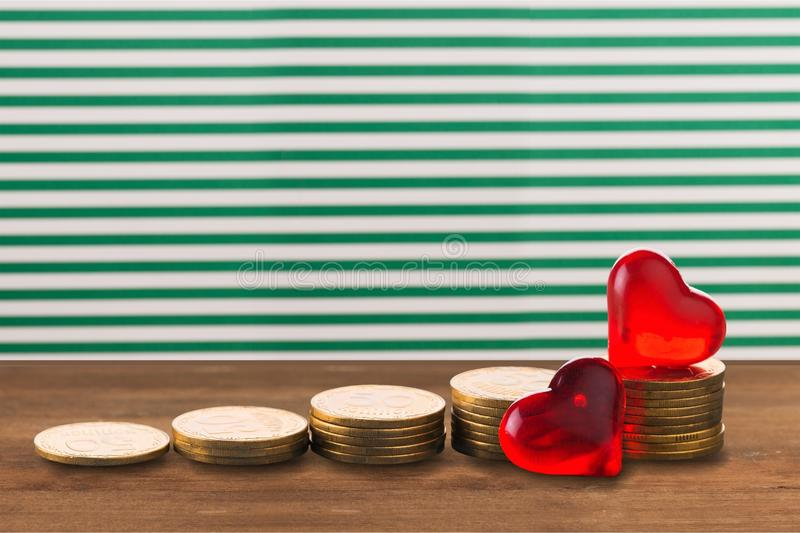 Money. Save tax growth investment value retirement royalty free stock image
