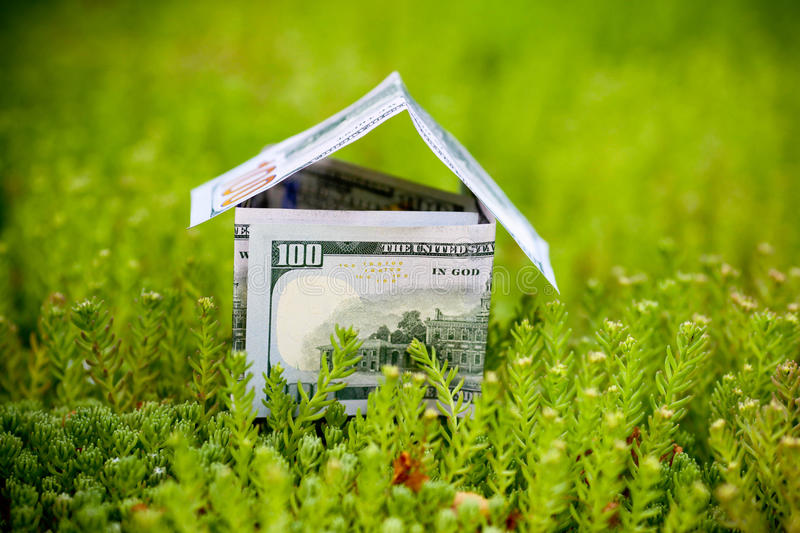 money for new housing stock image