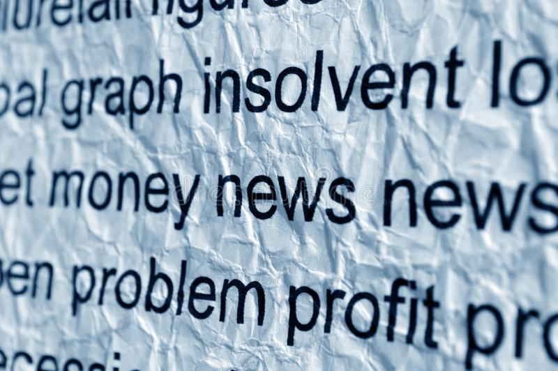 Download Money and news concept stock photo. Image of background - 32718992