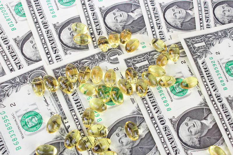Download Money and omega 3 stock photo. Image of america, account - 30985882