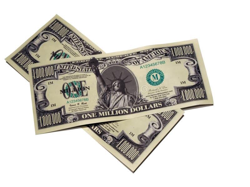 Money - one million dollar bill