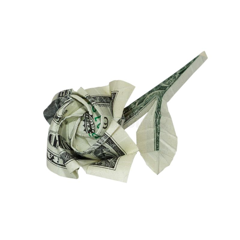 Money origami rose flower folded with real one dollar bill stock download money origami rose flower folded with real one dollar bill stock photo image of mightylinksfo
