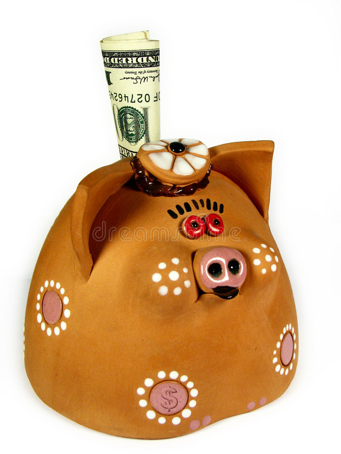 Money-pig Stock Image