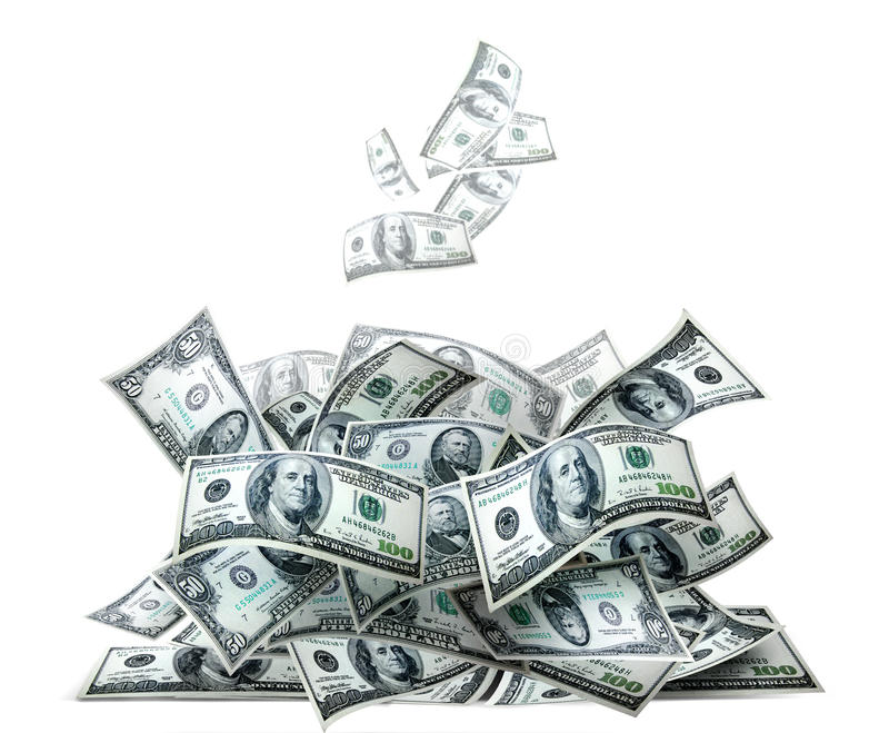 Money Pile Royalty Free Stock Image