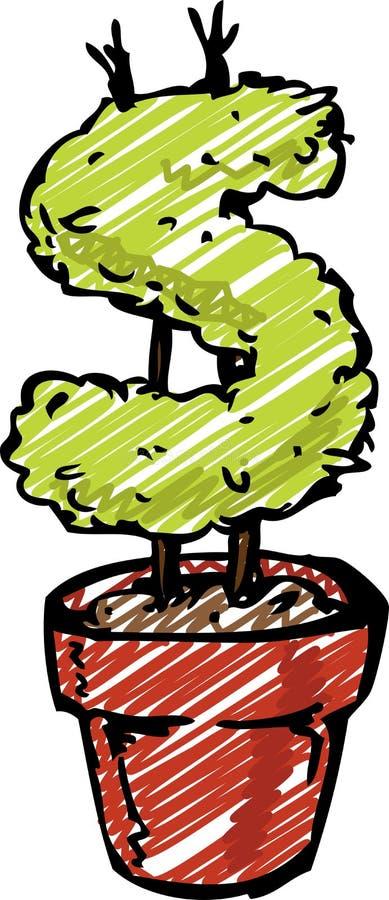 Download Money plant stock vector. Image of harvest, achievement - 5431561