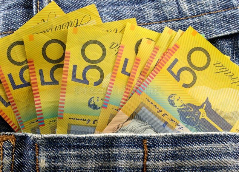 Download Money in pocket stock photo. Image of blue, economic - 20234520