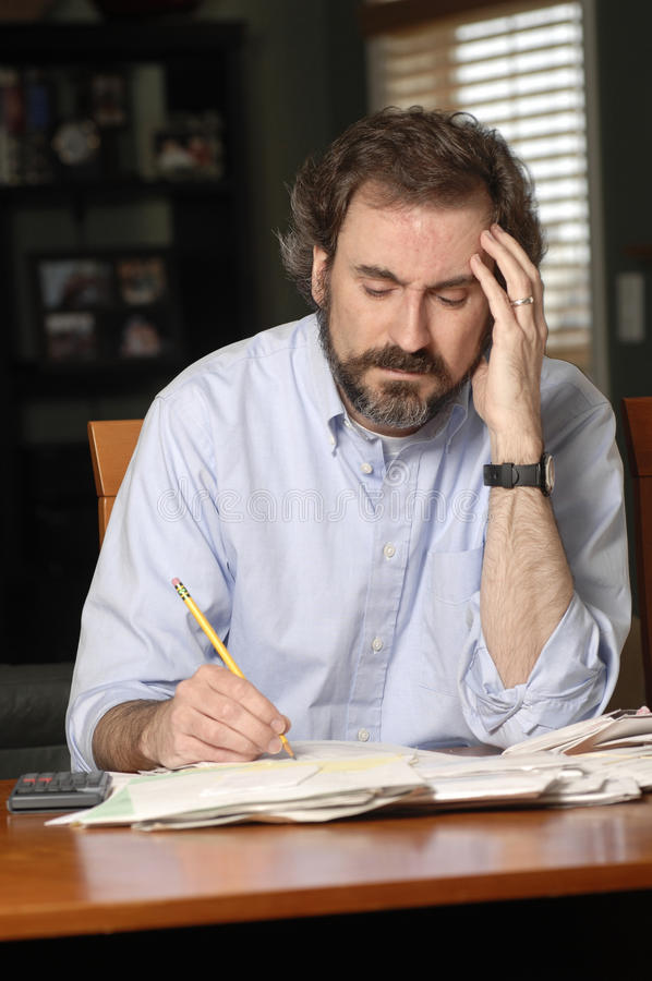 Download Money problems stock image. Image of taxing, taxes, anxiety - 9614049