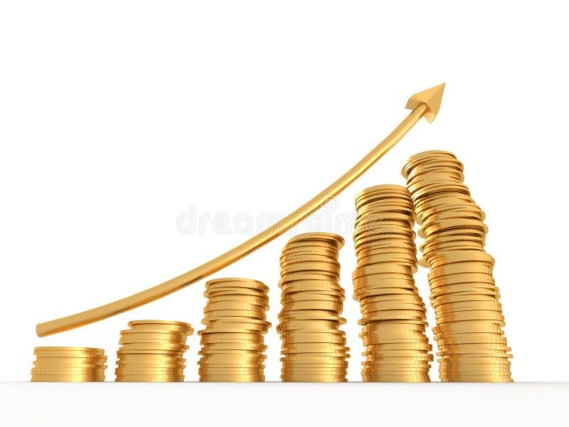Money profit stock illustration