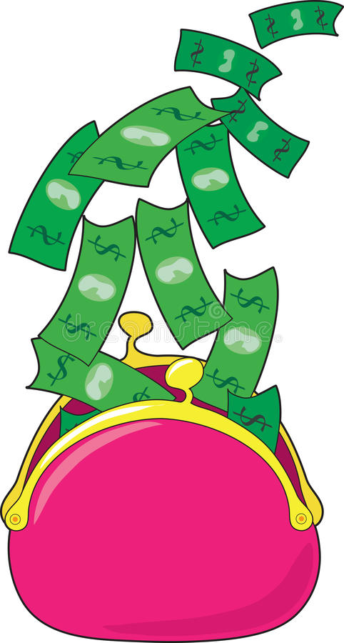 Free Money Purse Stock Photo - 20833900