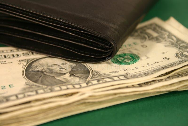 Money Purse II. Money and Purse stock photography