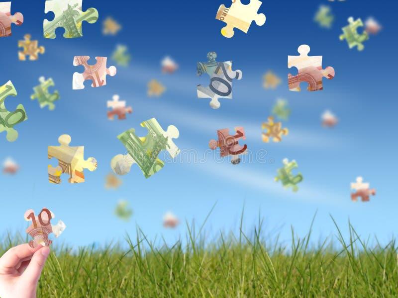 Download Money puzzle stock photo. Image of game, element, idea - 4111806