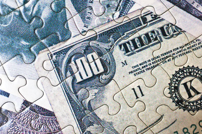 Download Money puzzle stock image. Image of capital, bank, bankruptcy - 34192541