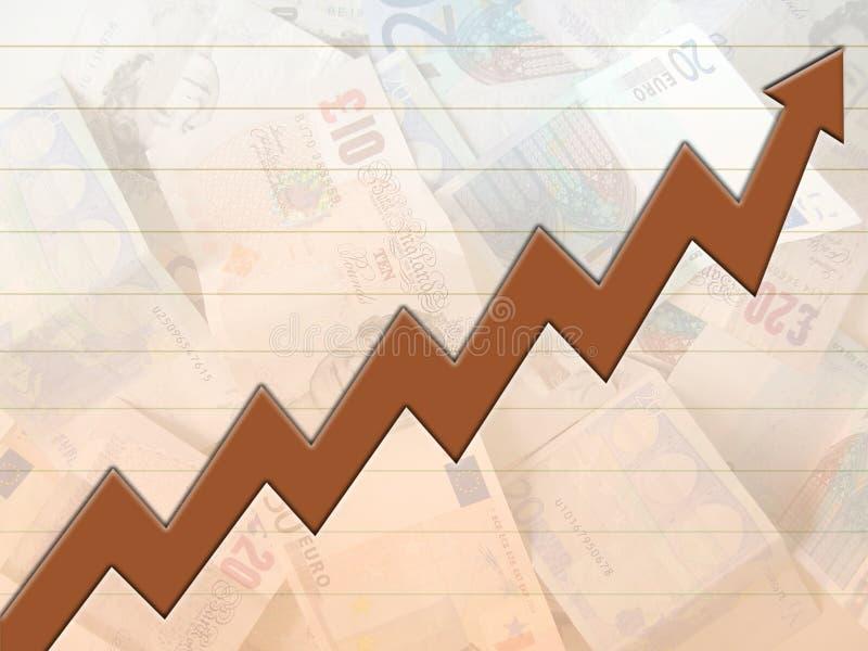Download Money rise stock illustration. Illustration of stock, increase - 141069