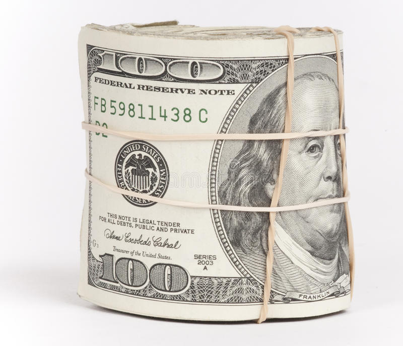 Money Roll stock photos