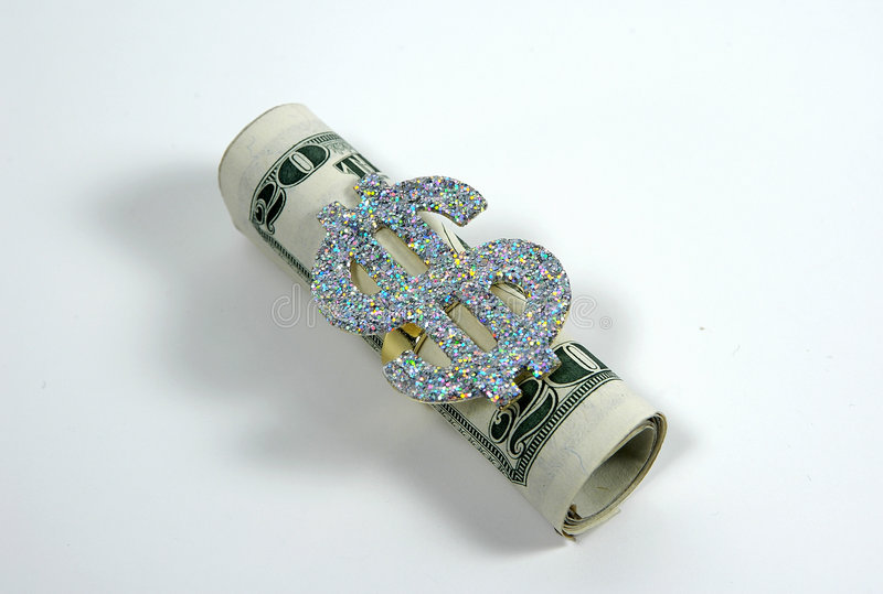 Money Roll royalty free stock photography
